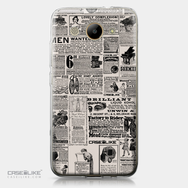 Huawei Y3 2017 case Vintage Newspaper Advertising 4818 | CASEiLIKE.com