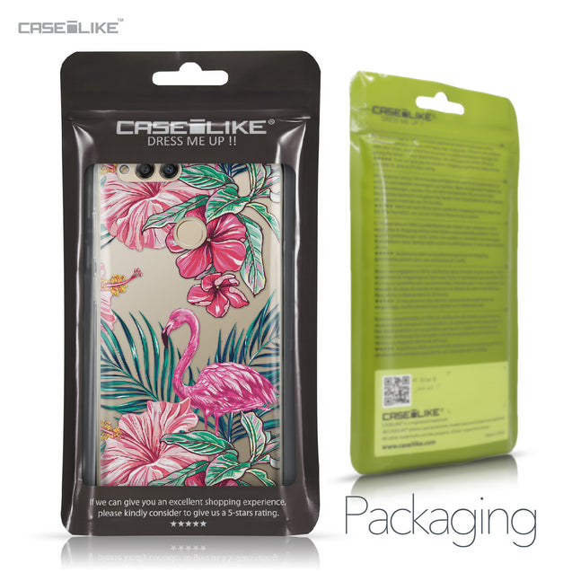 Huawei Honor 7X case Tropical Flamingo 2239 Retail Packaging | CASEiLIKE.com