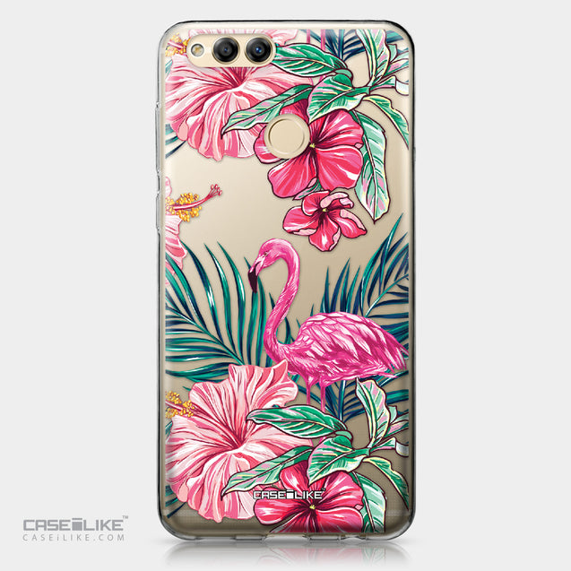 Huawei Honor 7X case Tropical Flamingo 2239 | CASEiLIKE.com