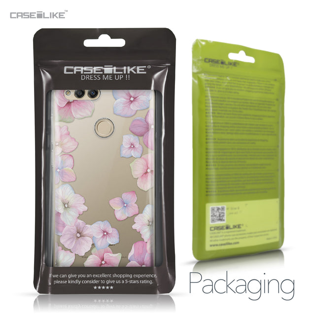 Huawei Honor 7X case Hydrangea 2257 Retail Packaging | CASEiLIKE.com