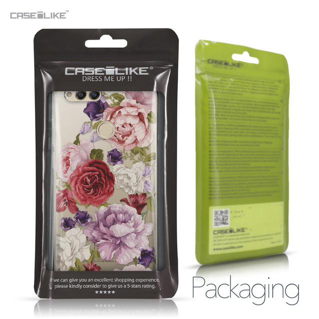 Huawei Honor 7X case Mixed Roses 2259 Retail Packaging | CASEiLIKE.com