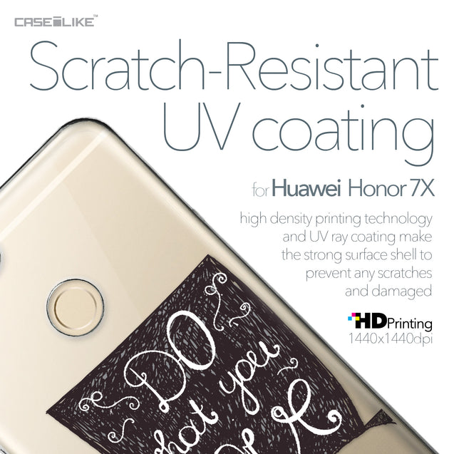 Huawei Honor 7X case Quote 2400 with UV-Coating Scratch-Resistant Case | CASEiLIKE.com