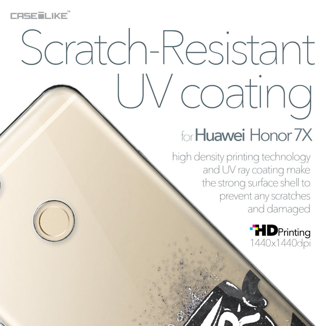 Huawei Honor 7X case Quote 2402 with UV-Coating Scratch-Resistant Case | CASEiLIKE.com