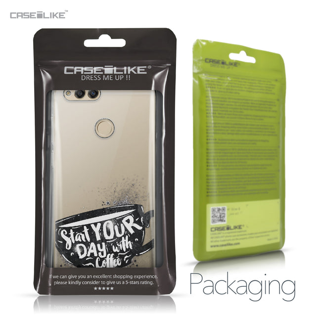 Huawei Honor 7X case Quote 2402 Retail Packaging | CASEiLIKE.com