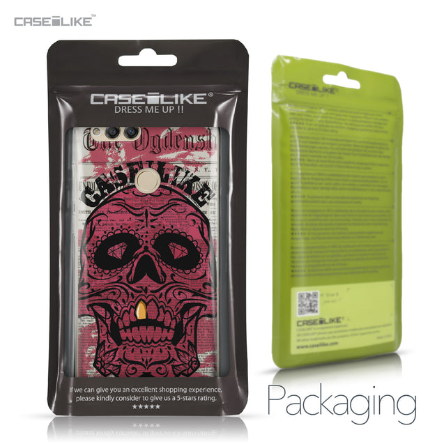 Huawei Honor 7X case Art of Skull 2523 Retail Packaging | CASEiLIKE.com