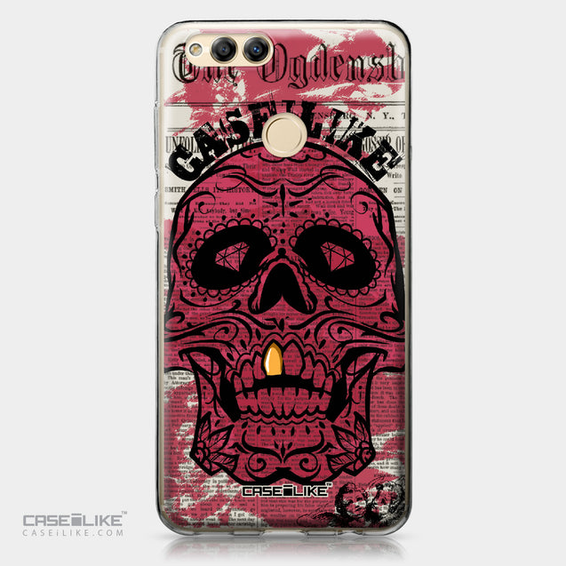Huawei Honor 7X case Art of Skull 2523 | CASEiLIKE.com