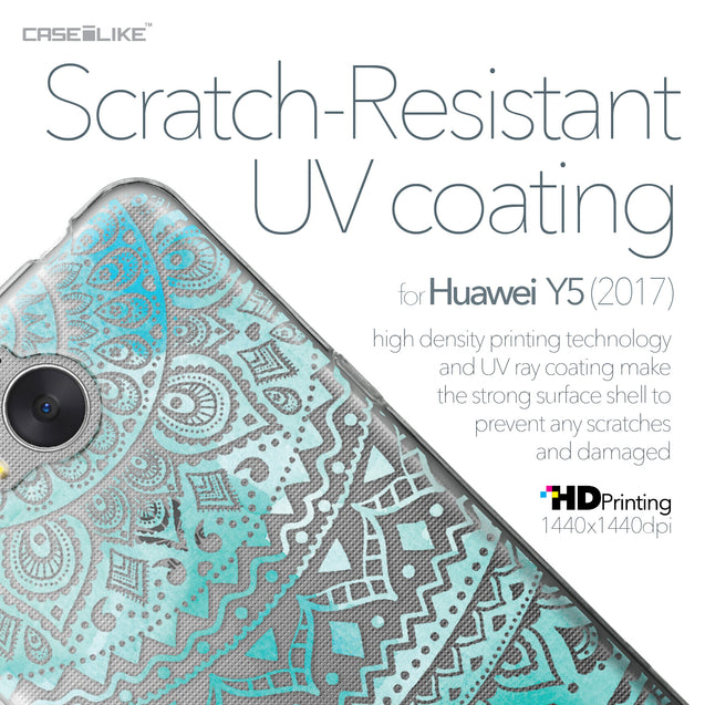 Huawei Y5 2017 case Indian Line Art 2066 with UV-Coating Scratch-Resistant Case | CASEiLIKE.com