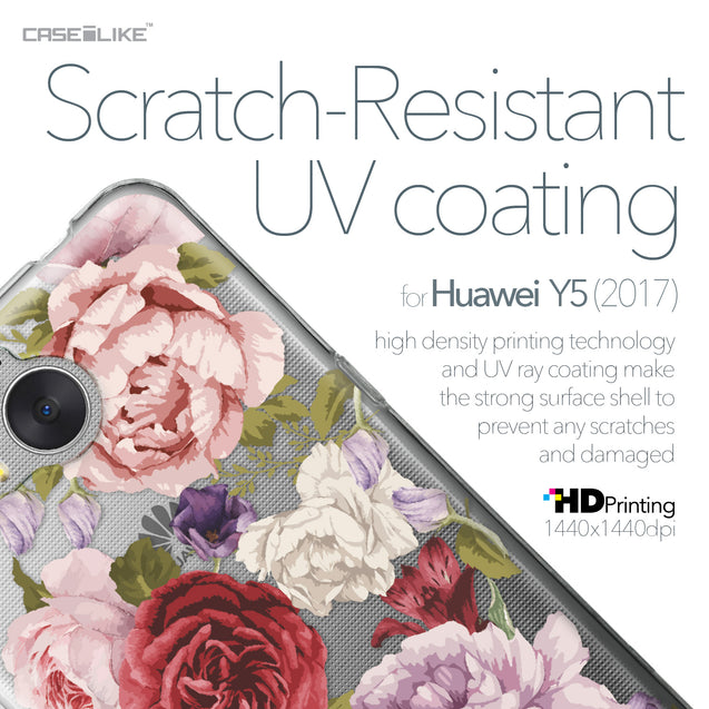 Huawei Y5 2017 case Mixed Roses 2259 with UV-Coating Scratch-Resistant Case | CASEiLIKE.com