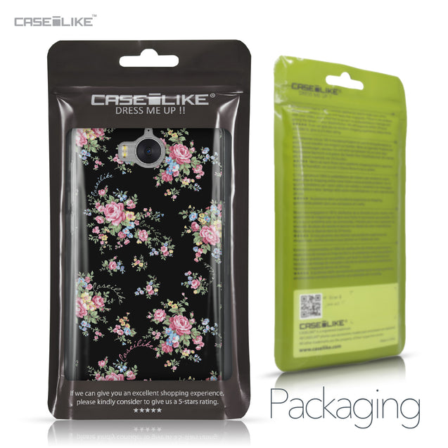 Huawei Y5 2017 case Floral Rose Classic 2261 Retail Packaging | CASEiLIKE.com