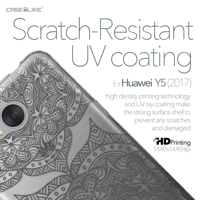 Huawei Y5 2017 case Mandala Art 2304 with UV-Coating Scratch-Resistant Case | CASEiLIKE.com