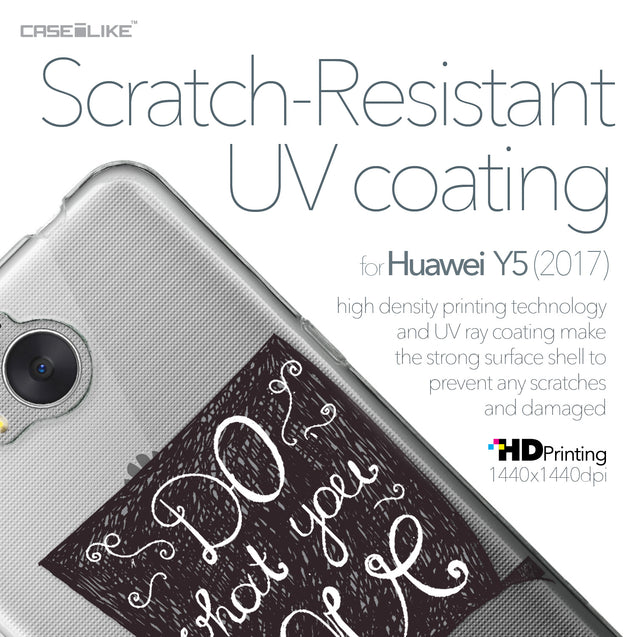 Huawei Y5 2017 case Quote 2400 with UV-Coating Scratch-Resistant Case | CASEiLIKE.com