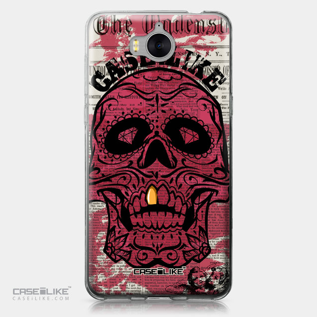 Huawei Y5 2017 case Art of Skull 2523 | CASEiLIKE.com