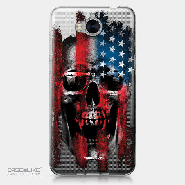 Huawei Y5 2017 case Art of Skull 2532 | CASEiLIKE.com