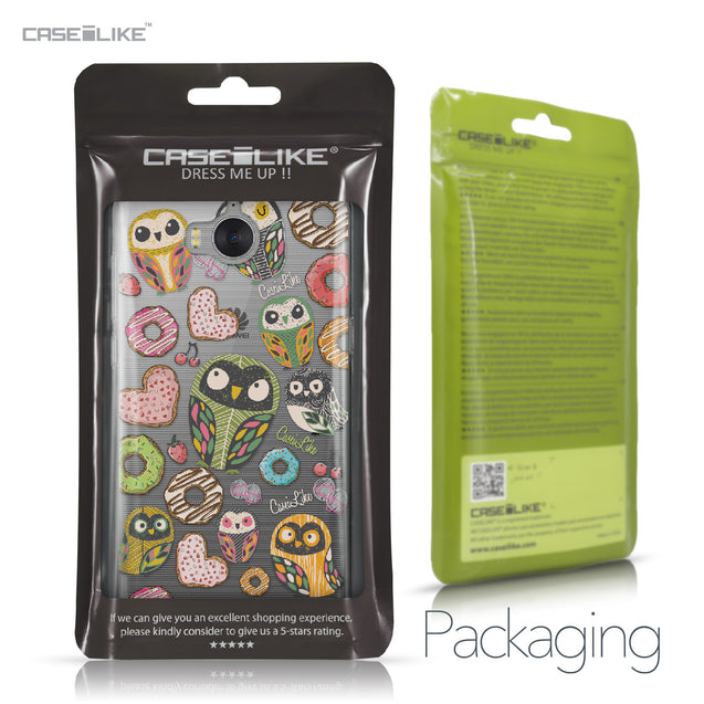 Huawei Y5 2017 case Owl Graphic Design 3315 Retail Packaging | CASEiLIKE.com