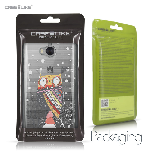Huawei Y5 2017 case Owl Graphic Design 3317 Retail Packaging | CASEiLIKE.com