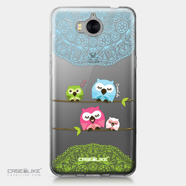 Huawei Y5 2017 case Owl Graphic Design 3318 | CASEiLIKE.com