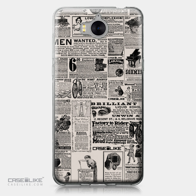 Huawei Y5 2017 case Vintage Newspaper Advertising 4818 | CASEiLIKE.com