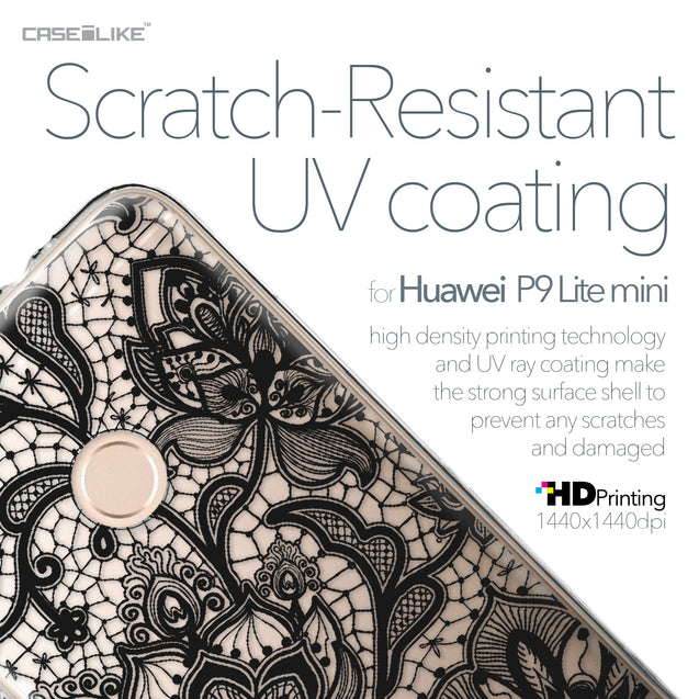 Huawei P9 Lite mini case Lace 2037 with UV-Coating Scratch-Resistant Case | CASEiLIKE.com