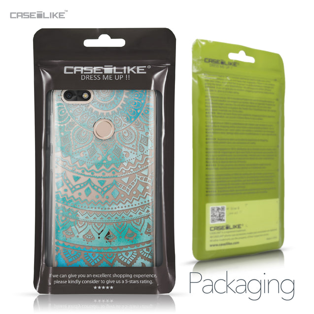 Huawei P9 Lite mini case Indian Line Art 2066 Retail Packaging | CASEiLIKE.com