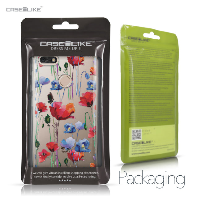 Huawei P9 Lite mini case Watercolor Floral 2234 Retail Packaging | CASEiLIKE.com