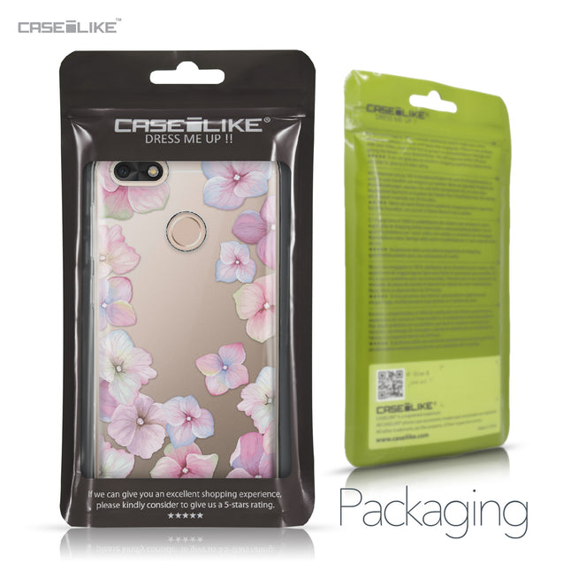 Huawei P9 Lite mini case Hydrangea 2257 Retail Packaging | CASEiLIKE.com