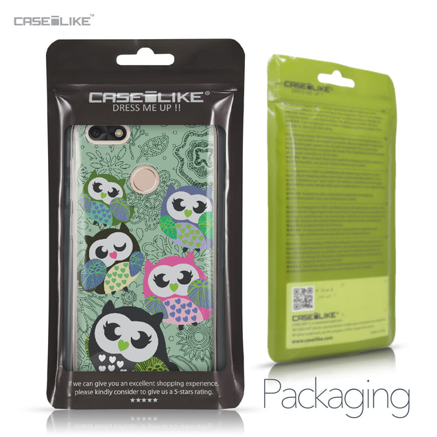 Huawei P9 Lite mini case Owl Graphic Design 3313 Retail Packaging | CASEiLIKE.com