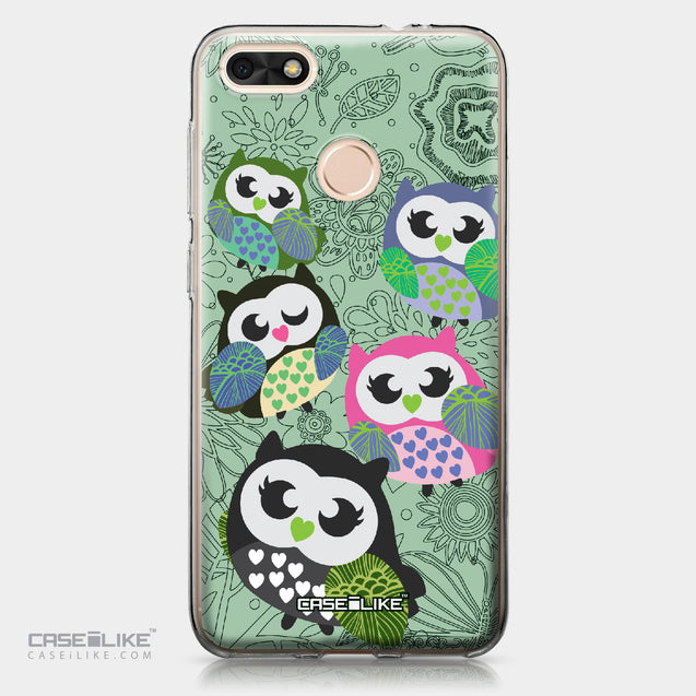 Huawei P9 Lite mini case Owl Graphic Design 3313 | CASEiLIKE.com