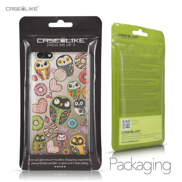 Huawei P9 Lite mini case Owl Graphic Design 3315 Retail Packaging | CASEiLIKE.com