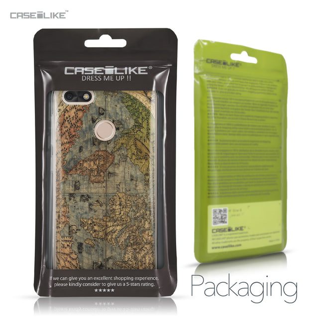 Huawei P9 Lite mini case World Map Vintage 4608 Retail Packaging | CASEiLIKE.com