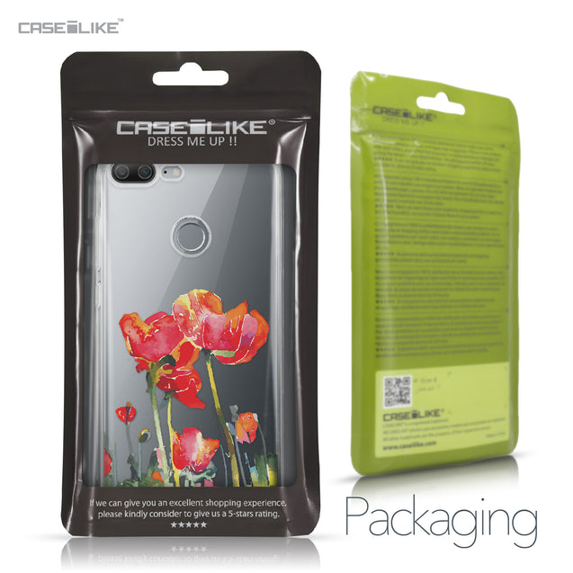 Huawei Honor 9 Lite case Watercolor Floral 2230 Retail Packaging | CASEiLIKE.com