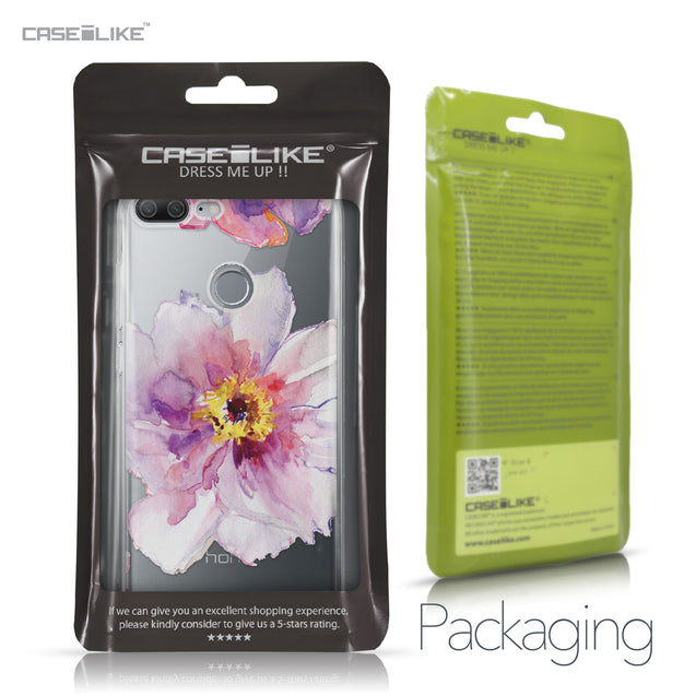 Huawei Honor 9 Lite case Watercolor Floral 2231 Retail Packaging | CASEiLIKE.com
