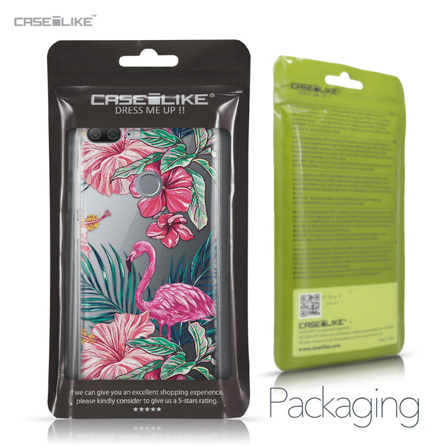 Huawei Honor 9 Lite case Tropical Flamingo 2239 Retail Packaging | CASEiLIKE.com