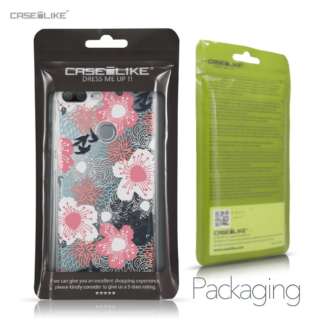Huawei Honor 9 Lite case Japanese Floral 2255 Retail Packaging | CASEiLIKE.com