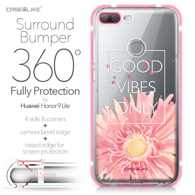 Huawei Honor 9 Lite case Gerbera 2258 Bumper Case Protection | CASEiLIKE.com