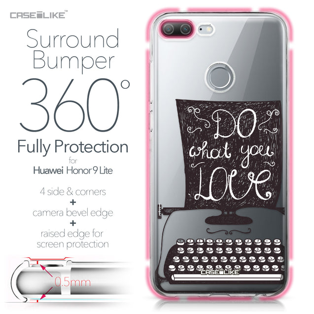 Huawei Honor 9 Lite case Quote 2400 Bumper Case Protection | CASEiLIKE.com