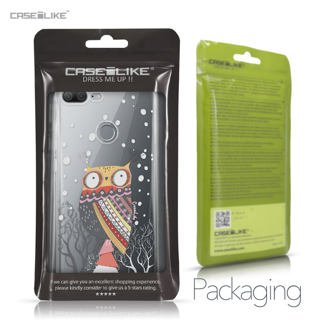 Huawei Honor 9 Lite case Owl Graphic Design 3317 Retail Packaging | CASEiLIKE.com