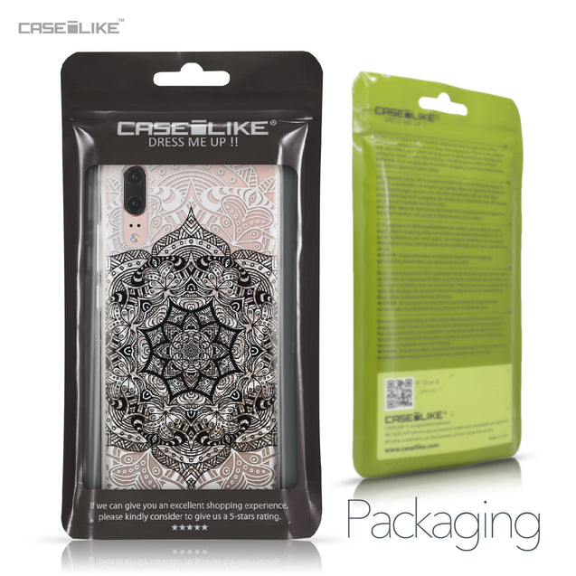 Huawei P20 case Mandala Art 2097 Retail Packaging | CASEiLIKE.com