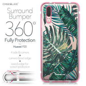 Huawei P20 case Tropical Palm Tree 2238 Bumper Case Protection | CASEiLIKE.com