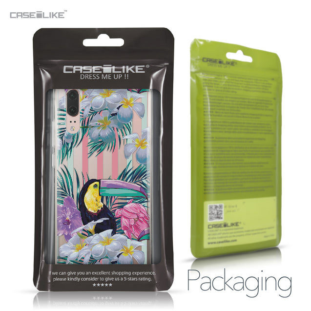 Huawei P20 case Tropical Floral 2240 Retail Packaging | CASEiLIKE.com