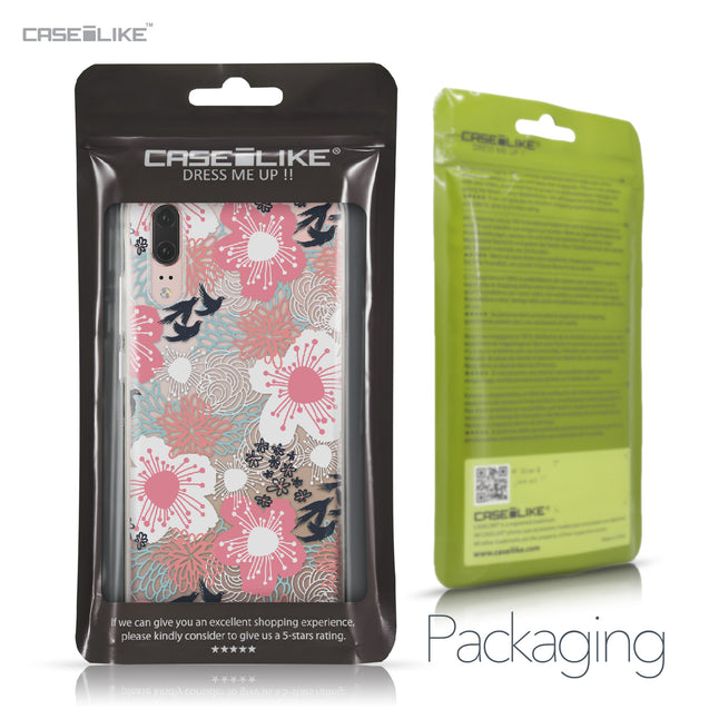 Huawei P20 case Japanese Floral 2255 Retail Packaging | CASEiLIKE.com
