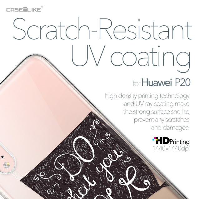 Huawei P20 case Quote 2400 with UV-Coating Scratch-Resistant Case | CASEiLIKE.com
