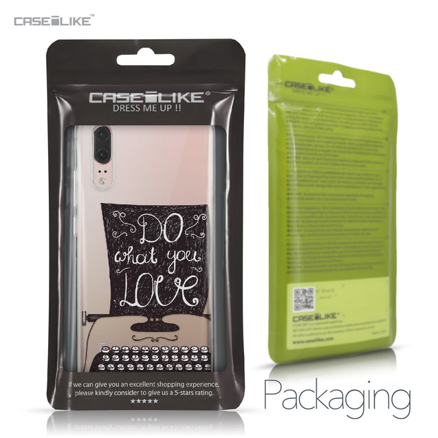 Huawei P20 case Quote 2400 Retail Packaging | CASEiLIKE.com