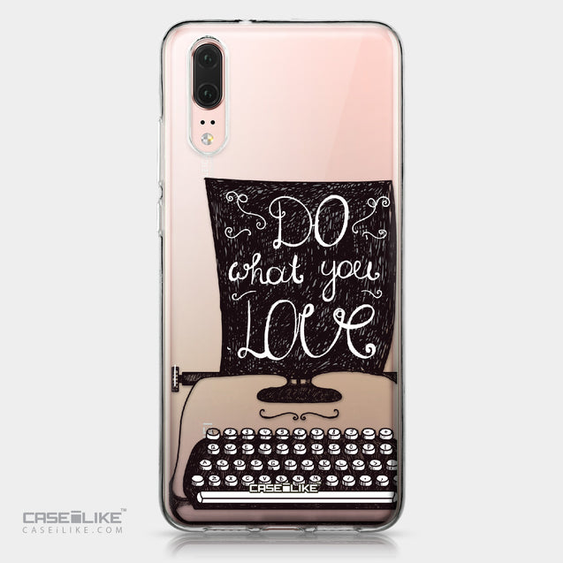 Huawei P20 case Quote 2400 | CASEiLIKE.com