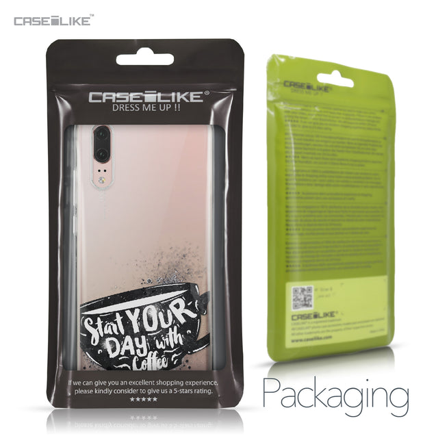 Huawei P20 case Quote 2402 Retail Packaging | CASEiLIKE.com