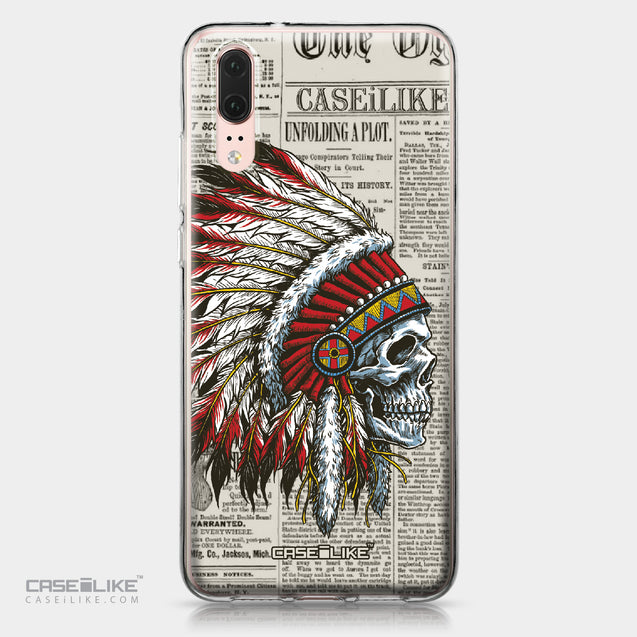 Huawei P20 case Art of Skull 2522 | CASEiLIKE.com