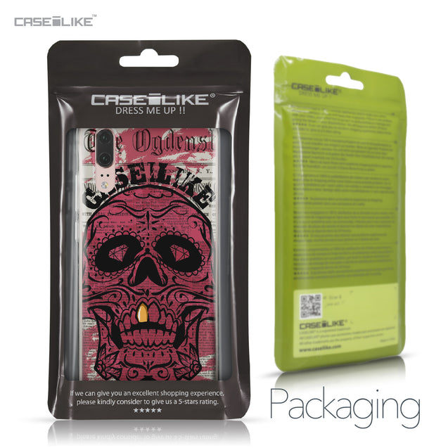 Huawei P20 case Art of Skull 2523 Retail Packaging | CASEiLIKE.com