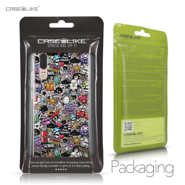 Huawei P20 case Graffiti 2703 Retail Packaging | CASEiLIKE.com