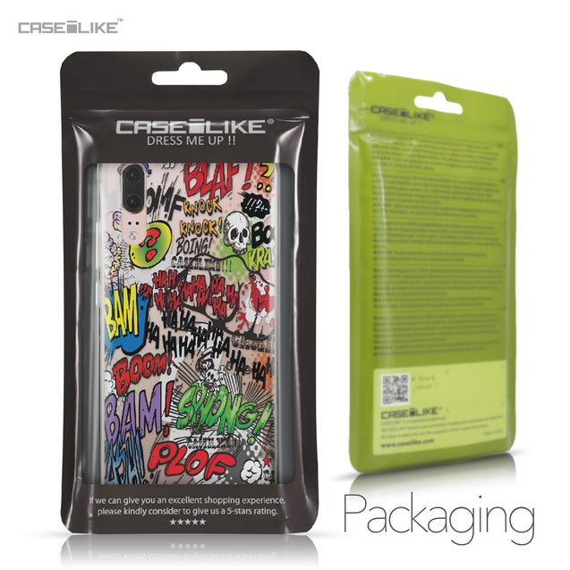 Huawei P20 case Comic Captions 2914 Retail Packaging | CASEiLIKE.com