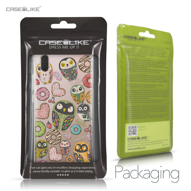 Huawei P20 case Owl Graphic Design 3315 Retail Packaging | CASEiLIKE.com