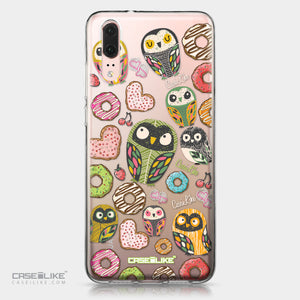 Huawei P20 case Owl Graphic Design 3315 | CASEiLIKE.com
